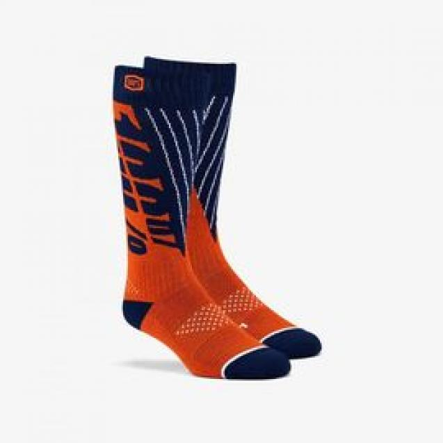 Носки 100% Torque Comfort Moto Socks Red/Blue