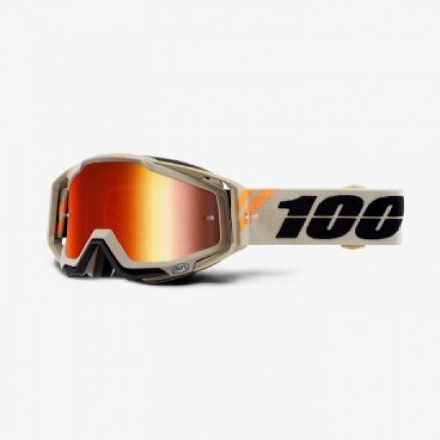 Очки 100% Racecraft Poliet / Mirror Red Lens (50110-338-02)