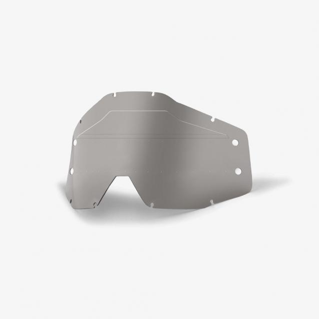 Линза 100% Accuri Forecast Lens Sonic Bumps w/mud Visor Smoke (51121-507-02)