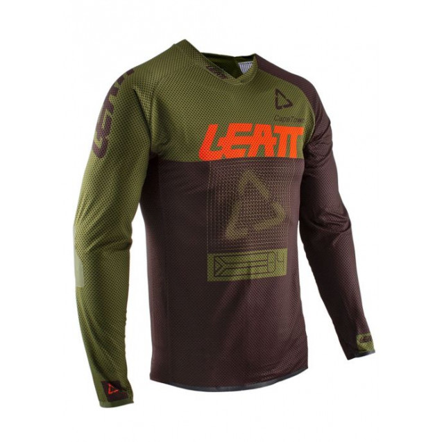 Велоджерси Leatt DBX 4.0 UltraWeld Jersey Forest