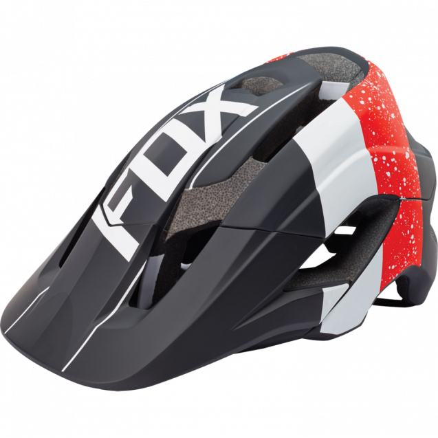 Козырек к шлему Fox Metah Visor Red/Black (17143-055-OS)