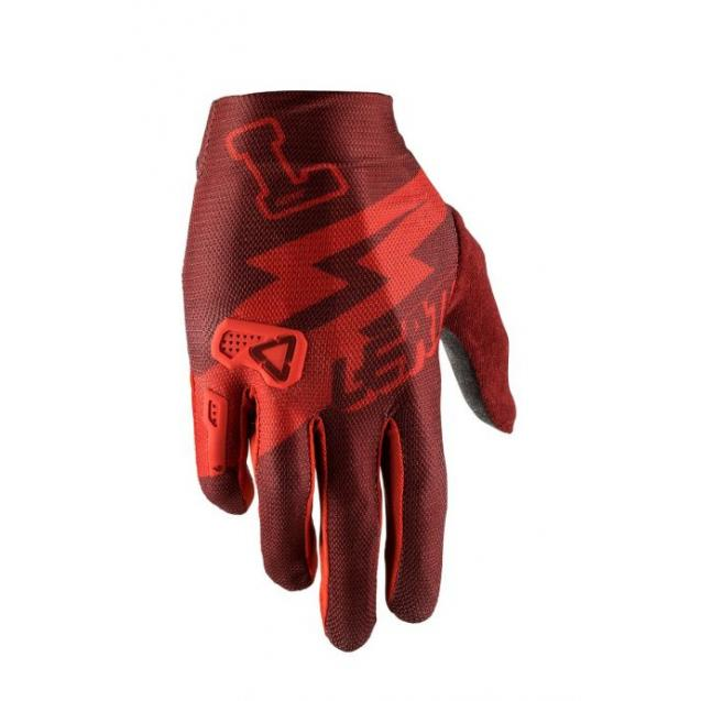 Велоперчатки Leatt DBX 2.0 X-Flow Glove Stadium Ruby