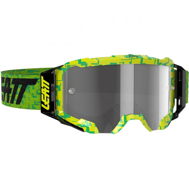 Очки Leatt Velocity 5.5 Neon Lime/Light Grey (8020001050)