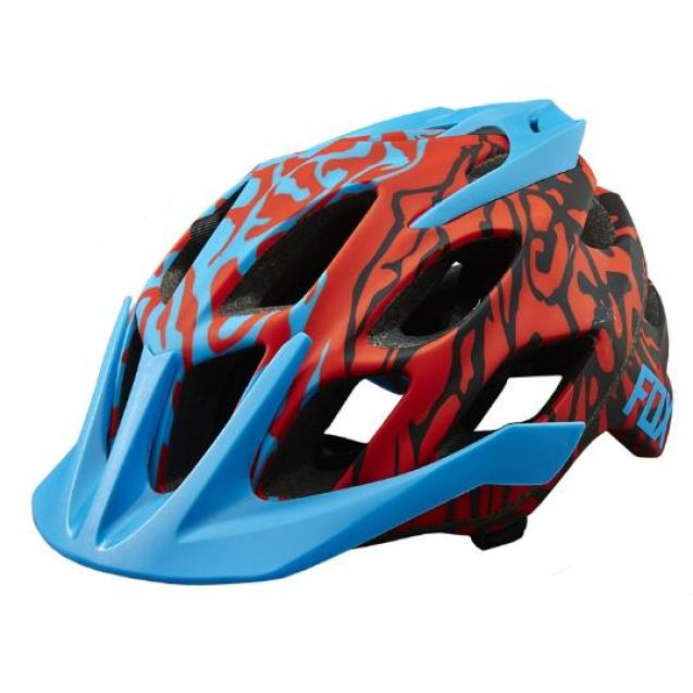 Козырек к шлему Fox Flux Helmet Visor Blue (17764-002-NS)