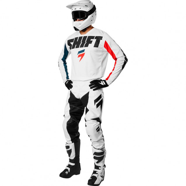 Мотоштаны Shift White York Pant White