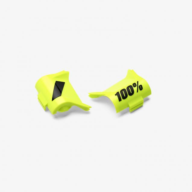 Крышки перемотки 100% Forecast Canister Cover Kit Pair Fluo Yellow/Black (51124-004-02)