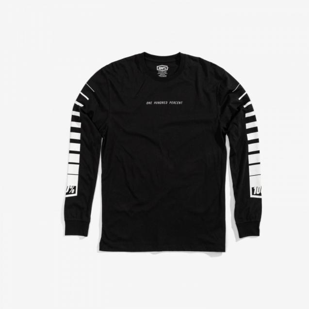Футболка 100% Breakaway Long Sleeve Tee Black