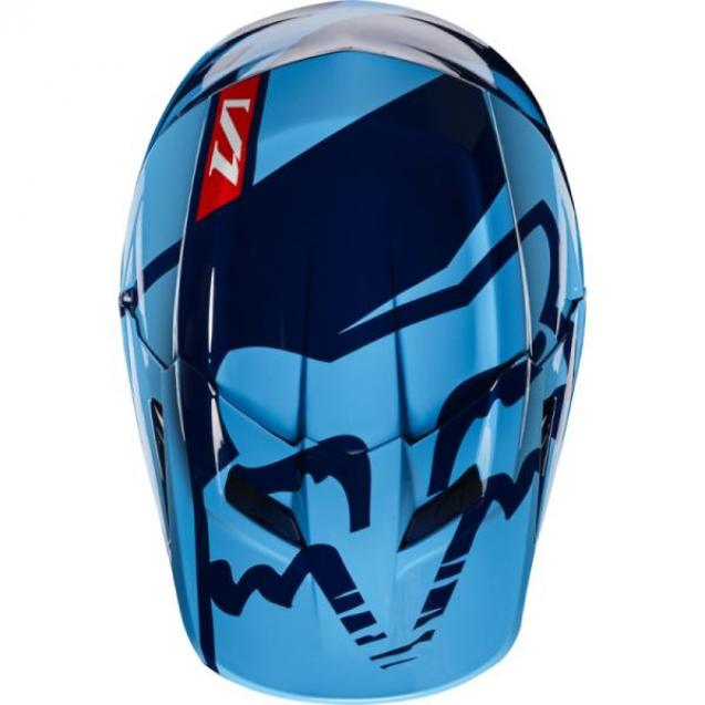 Козырек к шлему Fox V1 Helmet Visor Race Navy
