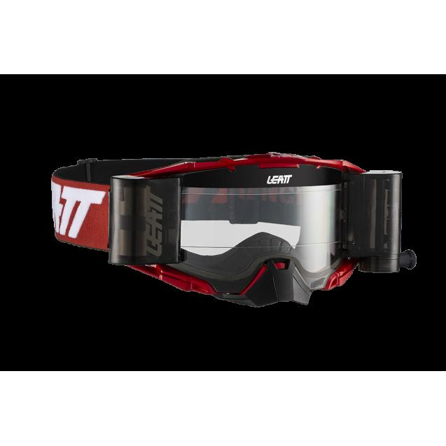 Очки Leatt Velocity 6.5 Roll-Off Red/White Clear (8019100053)