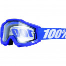 Очки 100% Accuri Enduro Reflex Blue / Clear Dual Lens (50202-002-02)