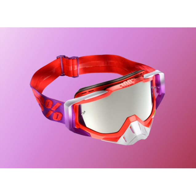 Очки 100% Racecraft Watermelon / Mirror Silver Lens (50110-195-02)