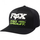 Бейсболка Fox Procircuit Flexfit Hat Black