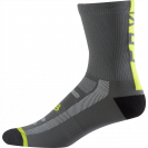 Носки Fox Logo Trail 8-inch Sock Graphite/Yellow