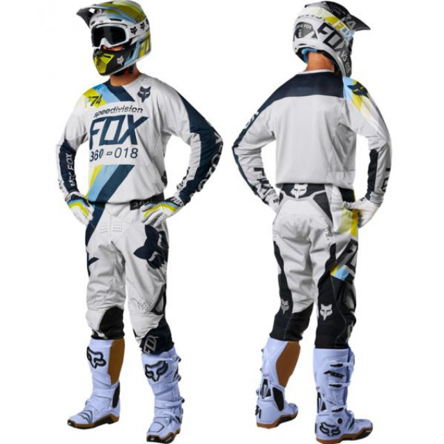 Мотоштаны Fox 360 Draftr Pant Light Grey