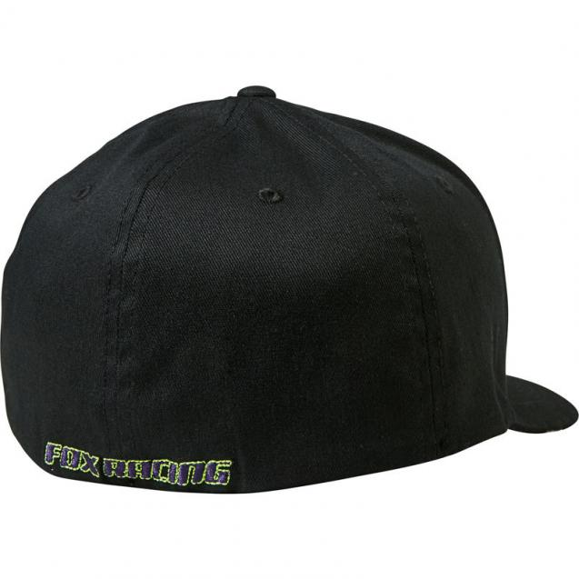 Бейсболка Fox Honr Flexfit Hat Black