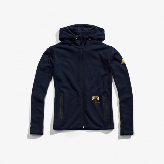 Толстовка 100% Viceroy Zip Hooded Tech Fleece Navy