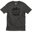 Футболка 100% Evolve Tee-Shirt Charcoal Heather