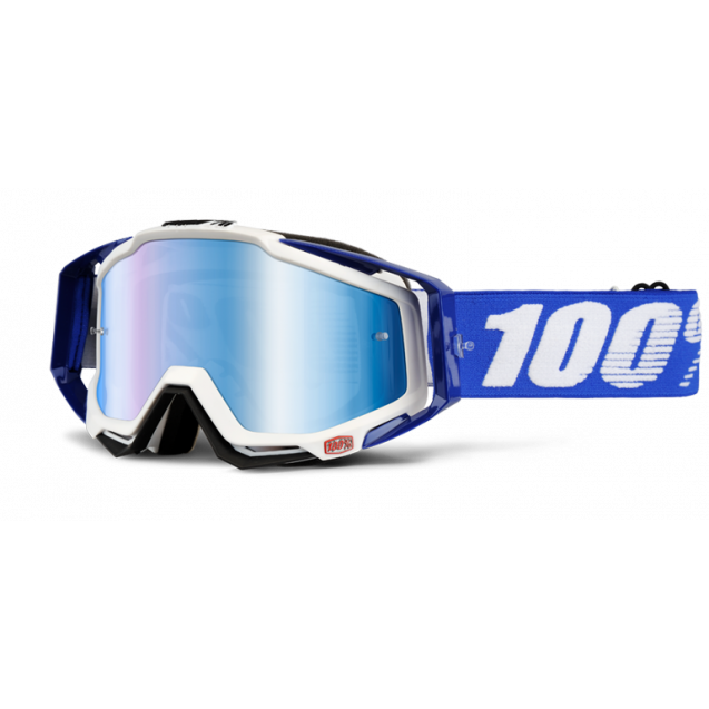 Очки 100% Racecraft Cobalt Blue / Mirror Blue Lens (50110-002-02)