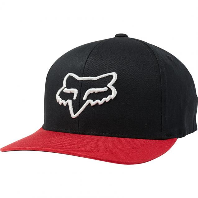Бейсболка Fox Scheme 110 Snapback Hat Black/Red (23679-017-OS)