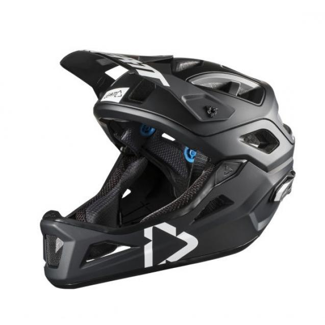 Велошлем Leatt DBX 3.0 Enduro Helmet Black/White
