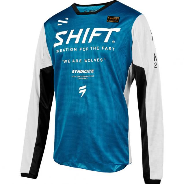 Мотоджерси Shift White Muse Jersey Blue