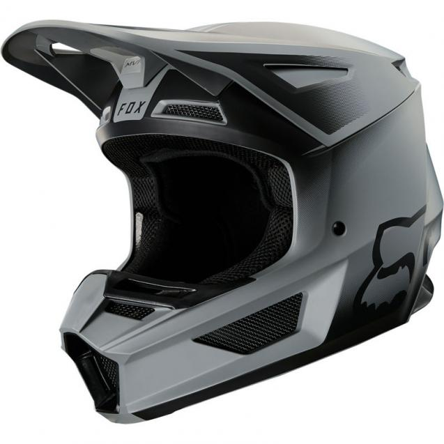 Мотошлем Fox V2 Vlar Helmet Matt Black